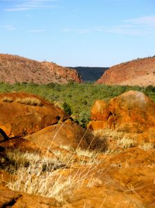 Photo of Heavitree gap, Alice Springs, Central Australias