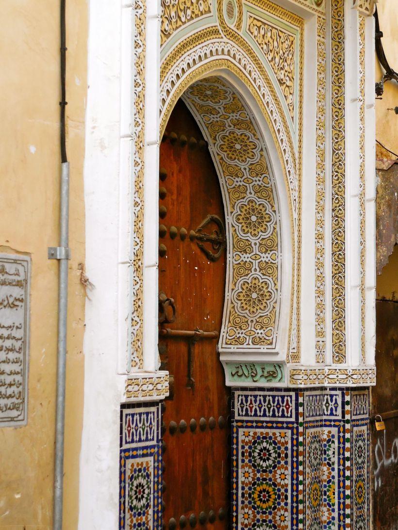 Fez doorway, Morocco