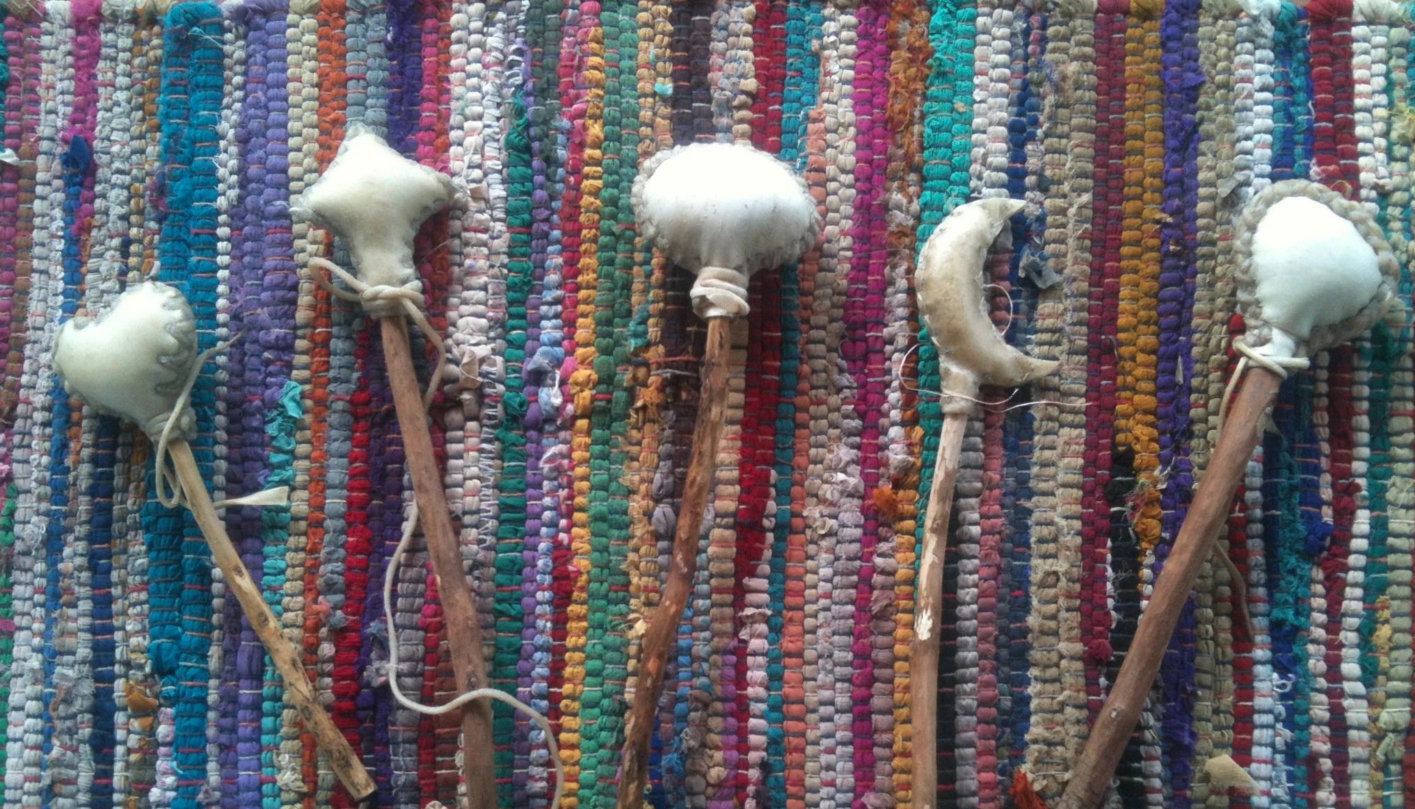 shamanic rattles
